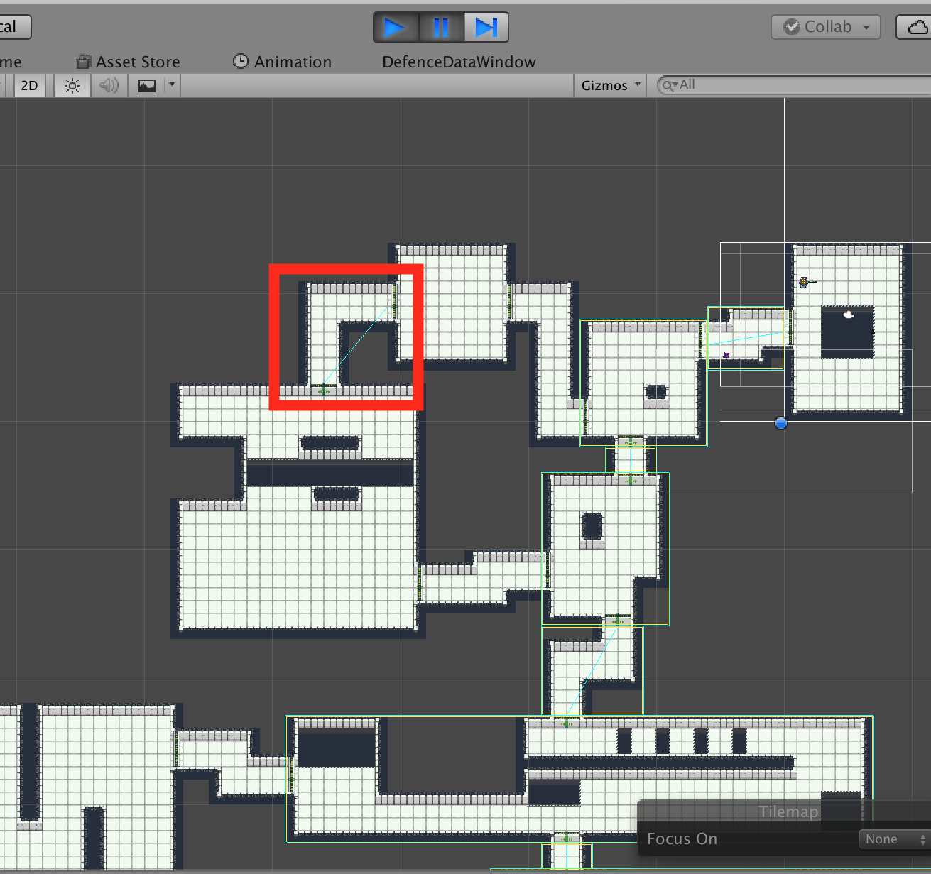 Procedural Level Generation with Rooms