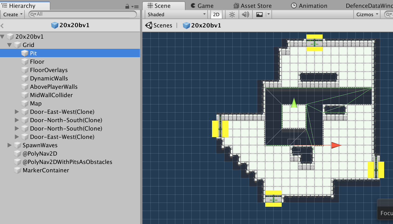 2D Multi-Layer Tilemap Design  in Unity